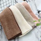 YINYUEHE hand towel small square towel soft absorbent face towel wash towel pineapple square towel