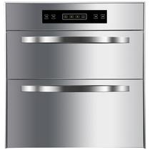 120层3不锈钢304201善美好太太消毒柜家用厨房嵌入镶内嵌式碗柜