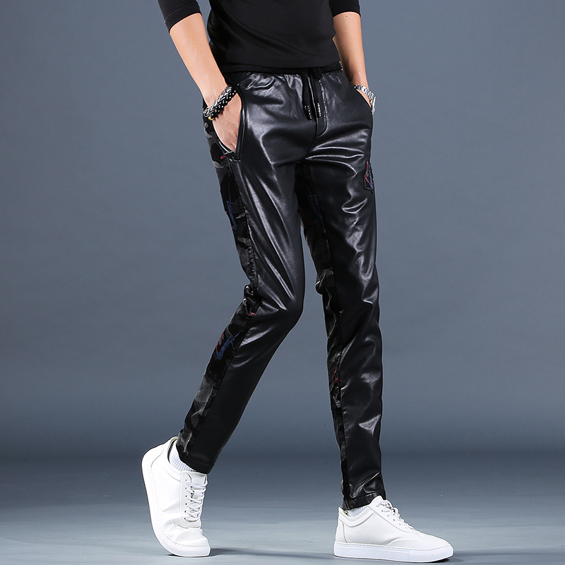 Кожаные брюки Артикул 599619169511