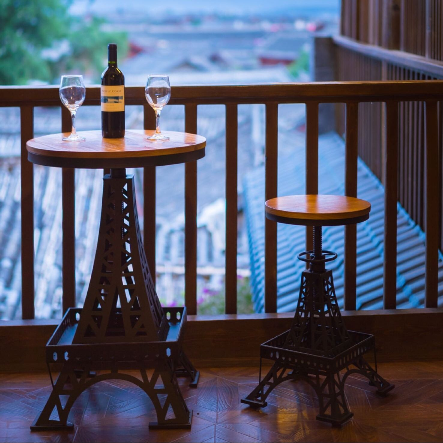 铁塔升降桌椅