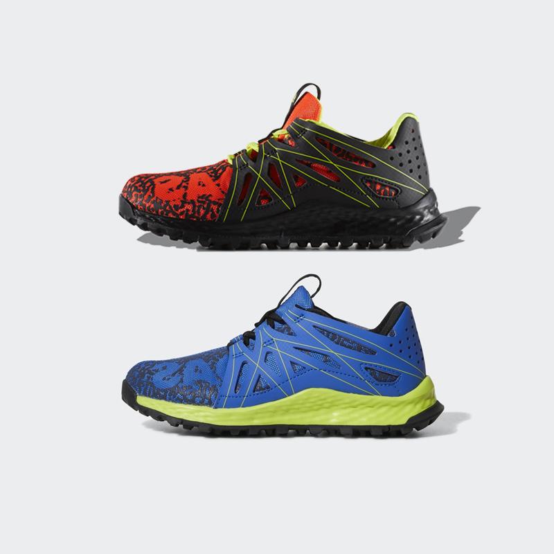 阿迪达斯男女童儿童鞋vigor bounce缓震跑步鞋运动鞋BY3445 3443