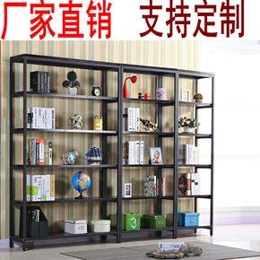 书架置物架陈列架墙木架子搁物架创意隔儿童板层架展示架客厅落地