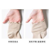 Pregnant women socks Xia Songkou thin section cotton socks breathable sweat-absorbent feet loose postpartum maternal month socks summer