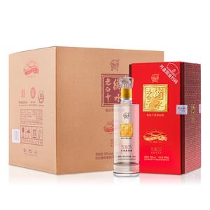 衡水老白干 白酒 五星 39度500ml*4瓶整箱装 国产白酒