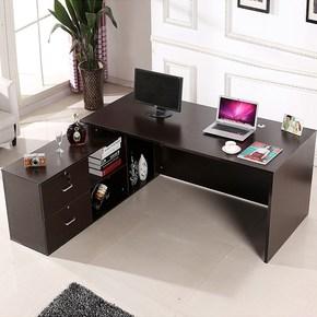 实木办公桌椅组合中式仿古写字台家用书桌复古大班台老板桌总裁桌