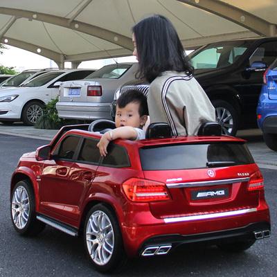奔驰儿童电动车四轮四驱越野车小孩玩具小汽车可坐双人座宝宝童车评价好不好
