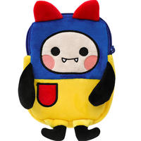 歪瓜 produced a small devil Bao Guantong with the bag backpack pain package girl two yuan surrounding anime coin purse