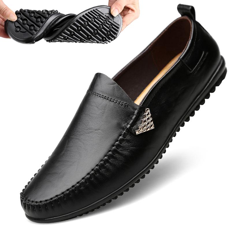 男鞋牛皮冬