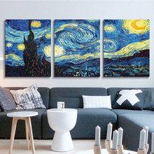 diy数字油画三联三拼 风景人物动物客厅卧室手绘手工填色画装饰画