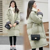 2017新款冬季棉服女韩版学生中长款宽松bf百搭面包服棉袄加厚棉衣