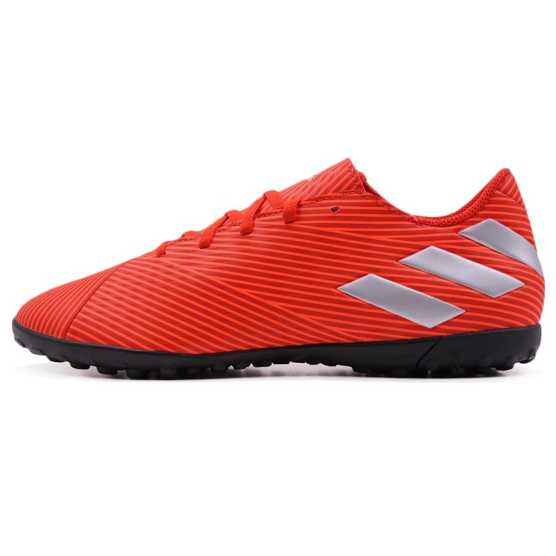 阿迪达斯球鞋男鞋2019新款NEMEZIZ TF防滑钉鞋运动鞋梅西足球鞋