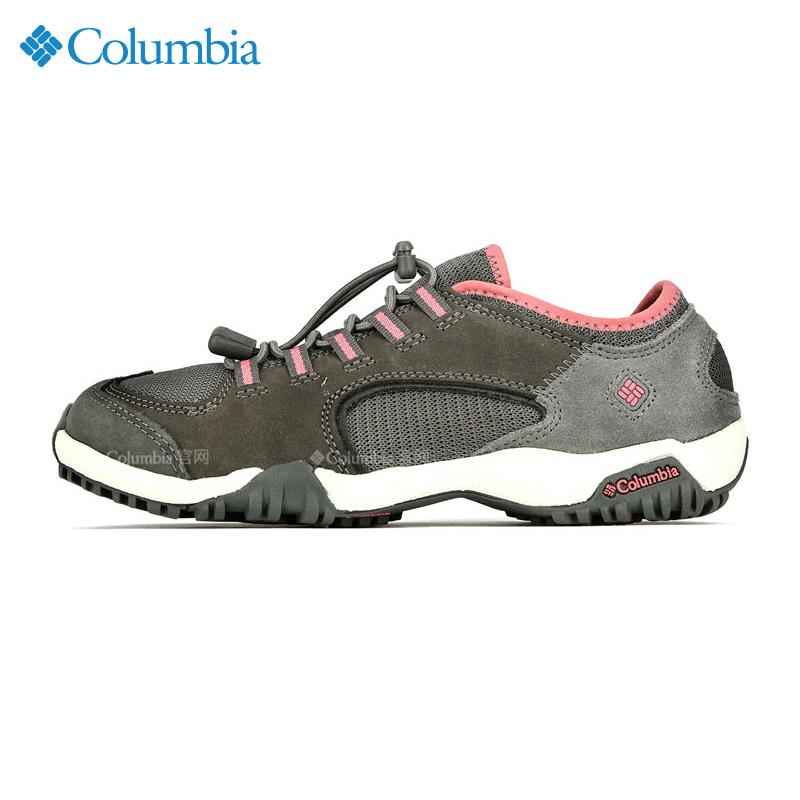 哥伦比亚女鞋2019秋季新款户外运动鞋休闲鞋防滑透气徒步鞋DM1087