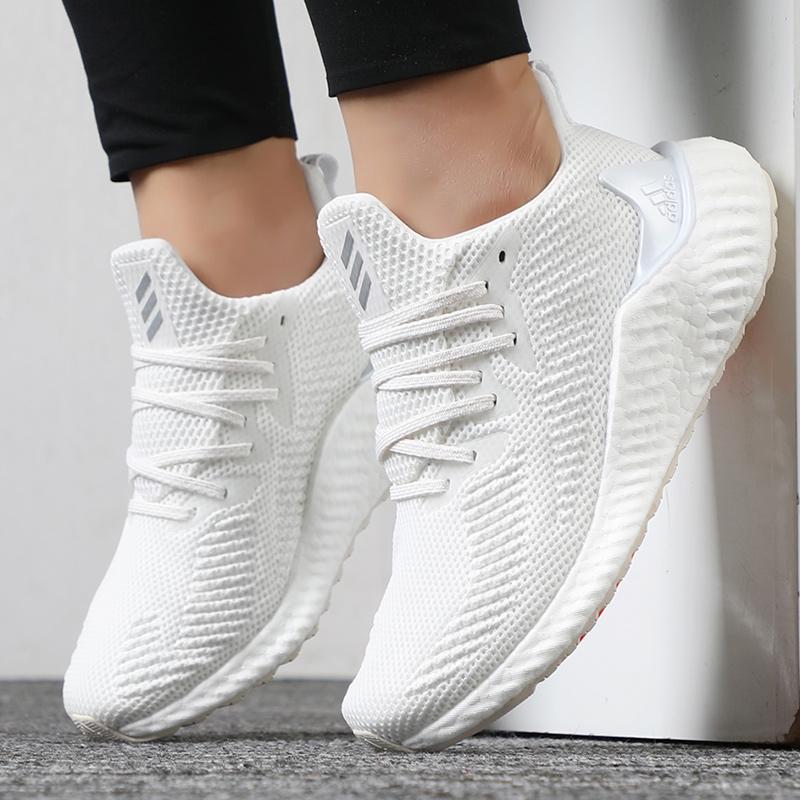 Adidas阿迪达斯女鞋2019秋季新款运动透气休闲鞋轻便跑步鞋EF1182