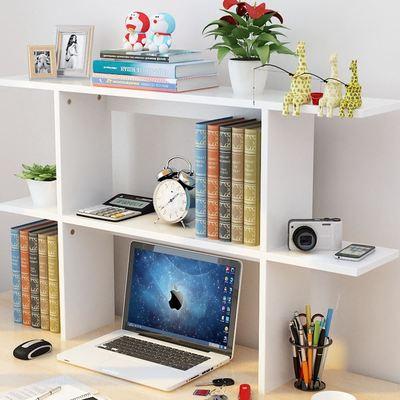 写字台上放的书架简易创意书架学生桌面书架桌上小书柜置物架简易新品特惠