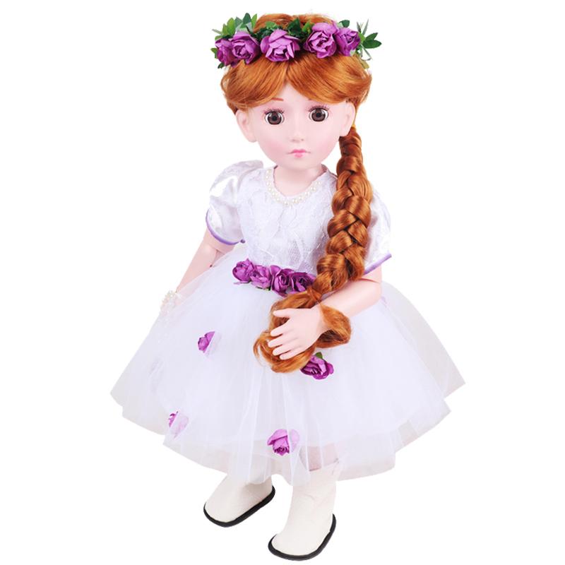婉儿会说话对话眨眼的智能蓝牙充电仿真儿童宝宝女孩玩具洋娃娃