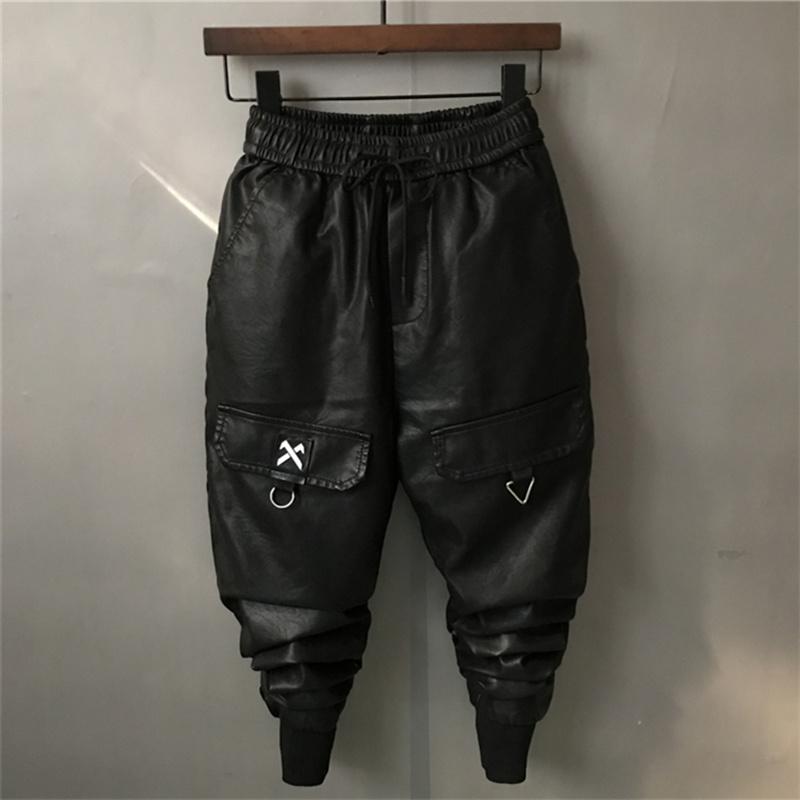 Кожаные брюки Артикул 579681909487