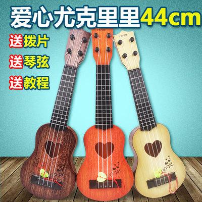 儿童入门小吉他初学者学生迷你可弹奏仿真尤克里里男女孩乐器礼物