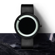 Fashion Trend of Men's Creative Solar Eclipse Personality Korean Edition Student's Simple Waterproof Nightlight Quartz Watch