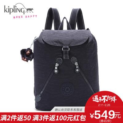 【新】kipling凯普林轻便防水尼龙双肩包女背包K01374书包旅行包