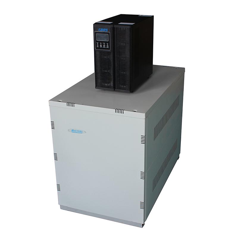 雷迪司6KVA 4800W备用延时1小时UPS不间断电源G6KL 4.8KW 1H