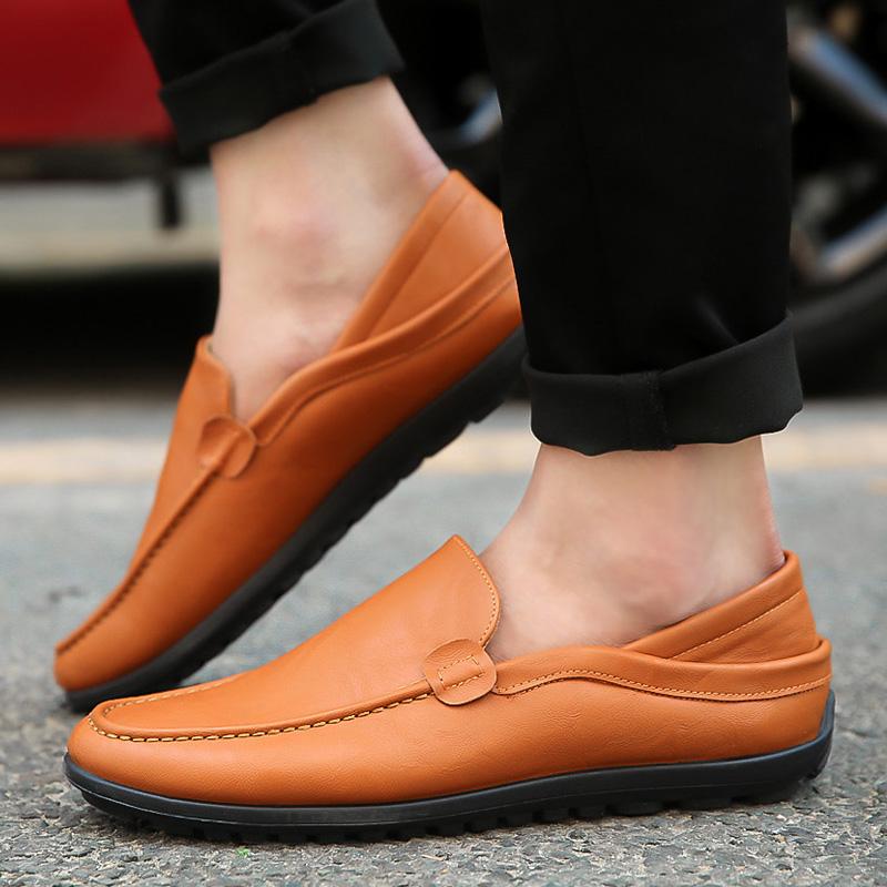 9.9元包邮特价清仓天天鞋子男12块以内的鞋子 2018新款豆豆鞋男鞋