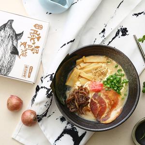 拉面说新品日本日式叉烧豚骨汤面条速食方便面非油炸1人份装200g