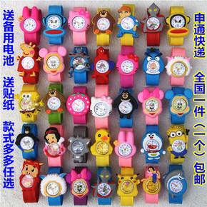 玩具儿童卡通女孩婴儿啪啪卷尺手表电子幼儿园小男孩3岁4宝宝拍拍