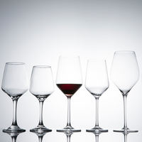 Red wine set home 2 creative wine glasses crystal cup goblet glass decanter decanter