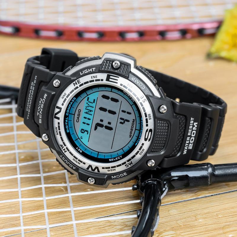 卡西歐手表男 防水電子表男表運動登山Sport系列手表SGW-100-1V