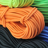 3mm color elastic rope round elastic rope hair accessories head rope rubber band DIY clothing accessories 10 m price