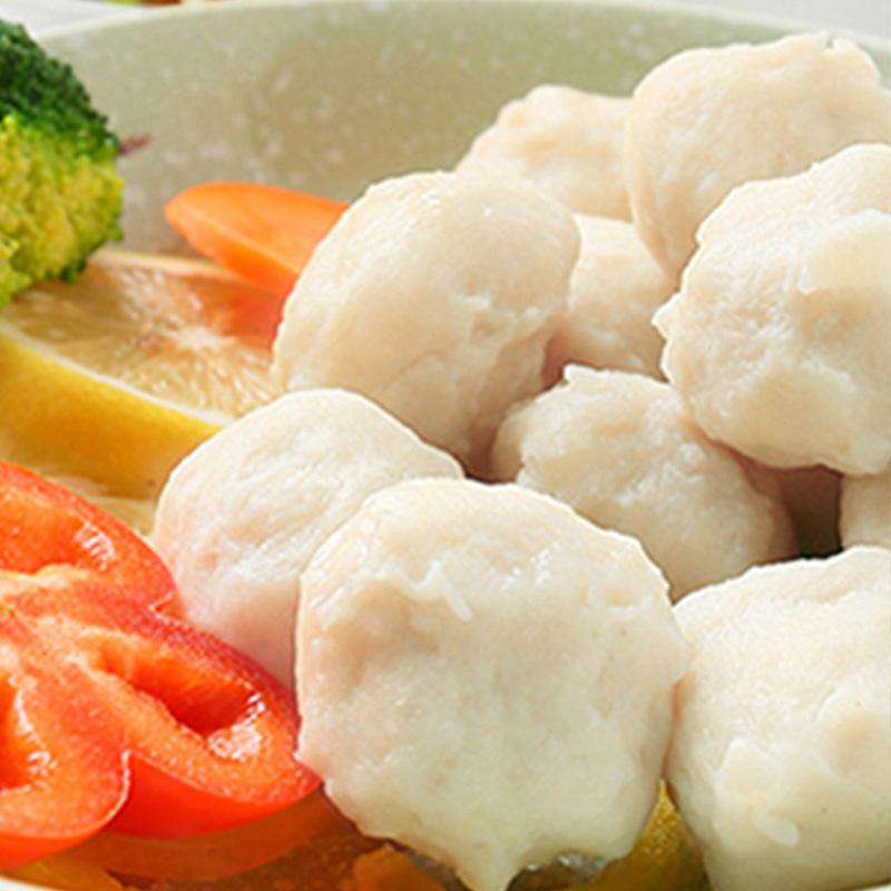 暖男厨房 潮汕正宗墨鱼丸 花枝丸250g一包 火锅食材烧烤海鲜用料