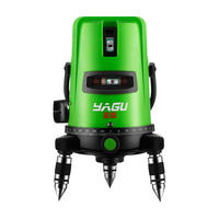Yagu green light level laser 2 line 3 line 5 line flat water meter high precision infrared automatic line caster