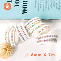 Color and paper tape diy album making accessories watercolor lace decorative tape hand-painted color accessories material