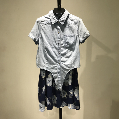 【LA】商场撤柜女装品牌特价清仓两件套连衣裙