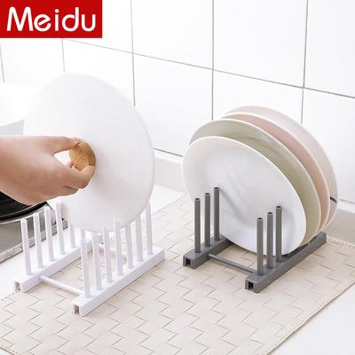 沥碗架家用沥水碗架厨房置物架塑料晾碗架沥水架盘子架锅盖架子