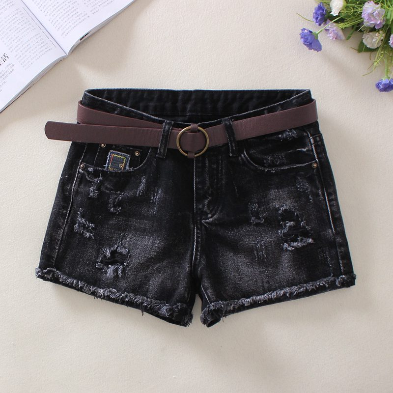 短裤靴裤牛仔