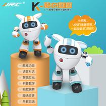 JJR/C K14儿童智能早教陪伴机器人 智能对话 益智早教 机器人玩具