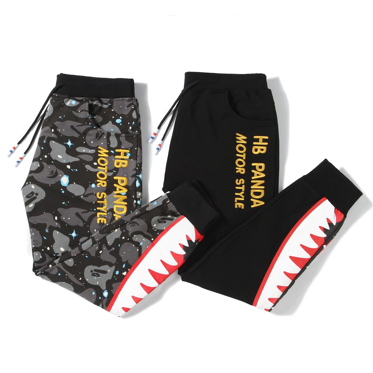 韩版加绒男式裤子