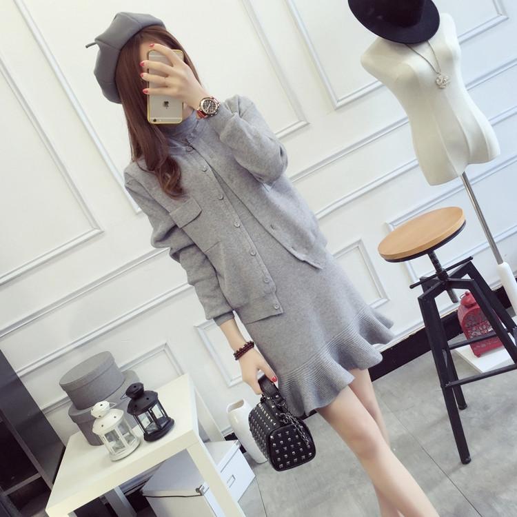 韩版时尚套装女春