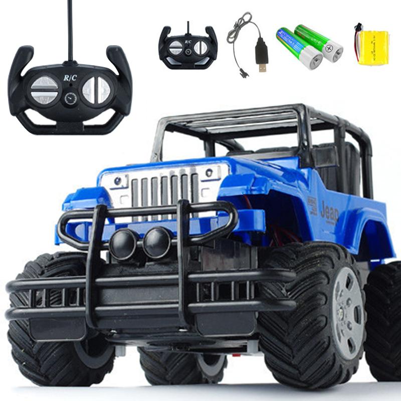 【充电版 带车灯+可漂移】超大遥控越野攀爬车耐摔儿童男孩玩具车