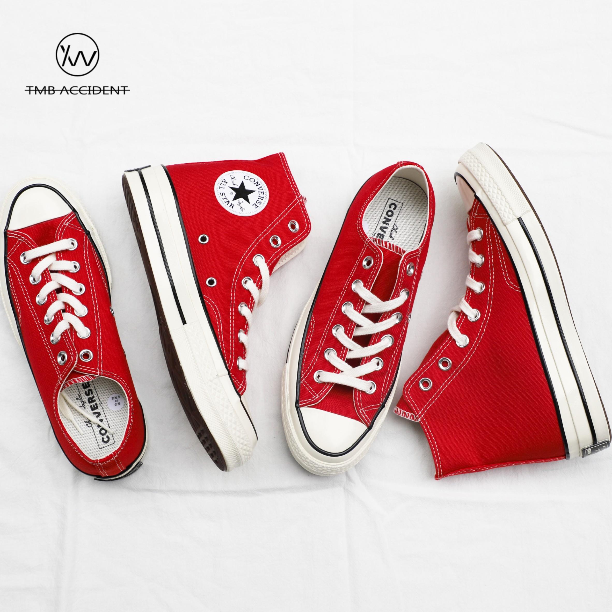 Converse匡威1970s圣诞红色高帮低帮帆布男鞋女鞋164944C 164949C