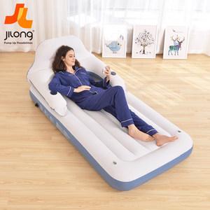 吉龙充气床垫单人气垫床双人家用 加厚充气简易便携户外午休