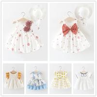 女童洋气连衣裙夏季儿童小女孩背心裙0一1-3岁女宝宝夏装公主裙子