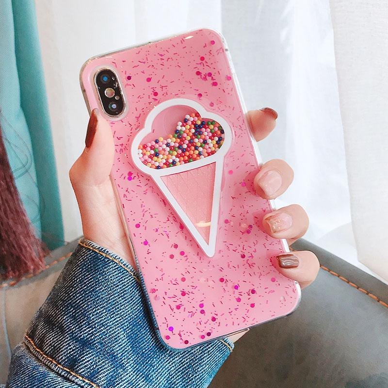 冰淇淋硅胶手机套