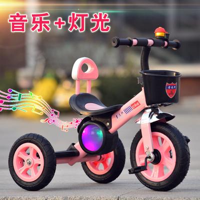 兒童三輪車腳踏車迷你1-3-5寶寶玩具車帶音樂大號2-6歲小孩自行車什么牌子好
