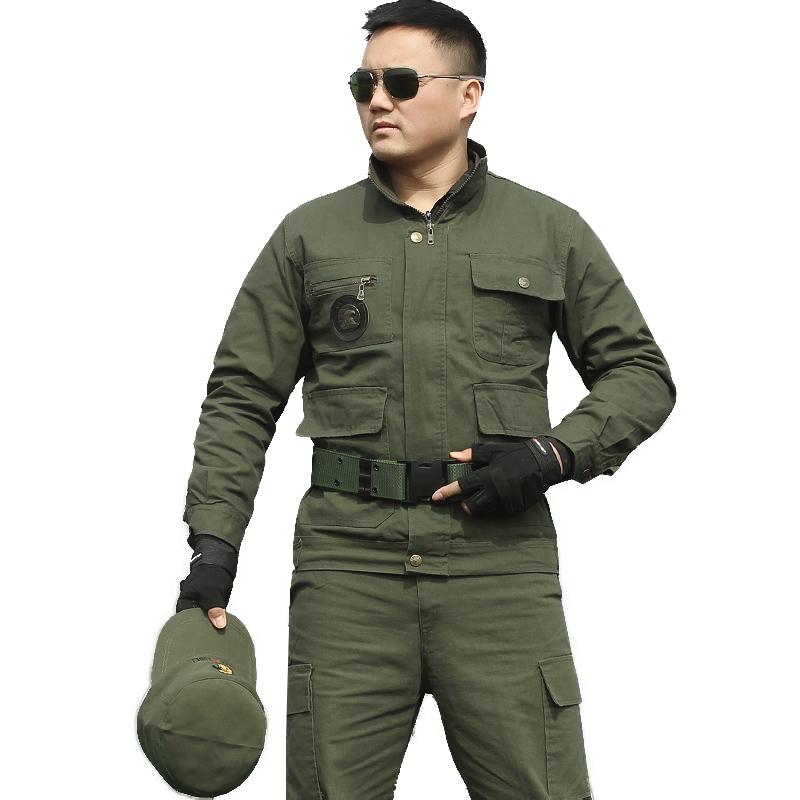 特种兵迷彩服套装男士军迷野战军装作战作训服耐磨防刮劳保工作服