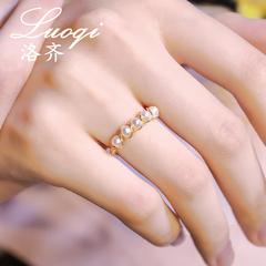 手工珍珠戒指