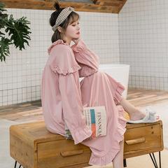 女士长袖睡裙