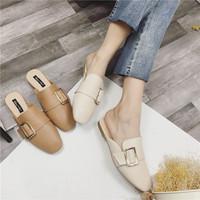 欧洲女懒人鞋