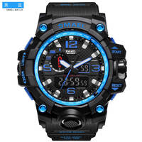 Smell electronic watch special forces luminous fishing outdoor sports multi-function waterproof swimming watch men